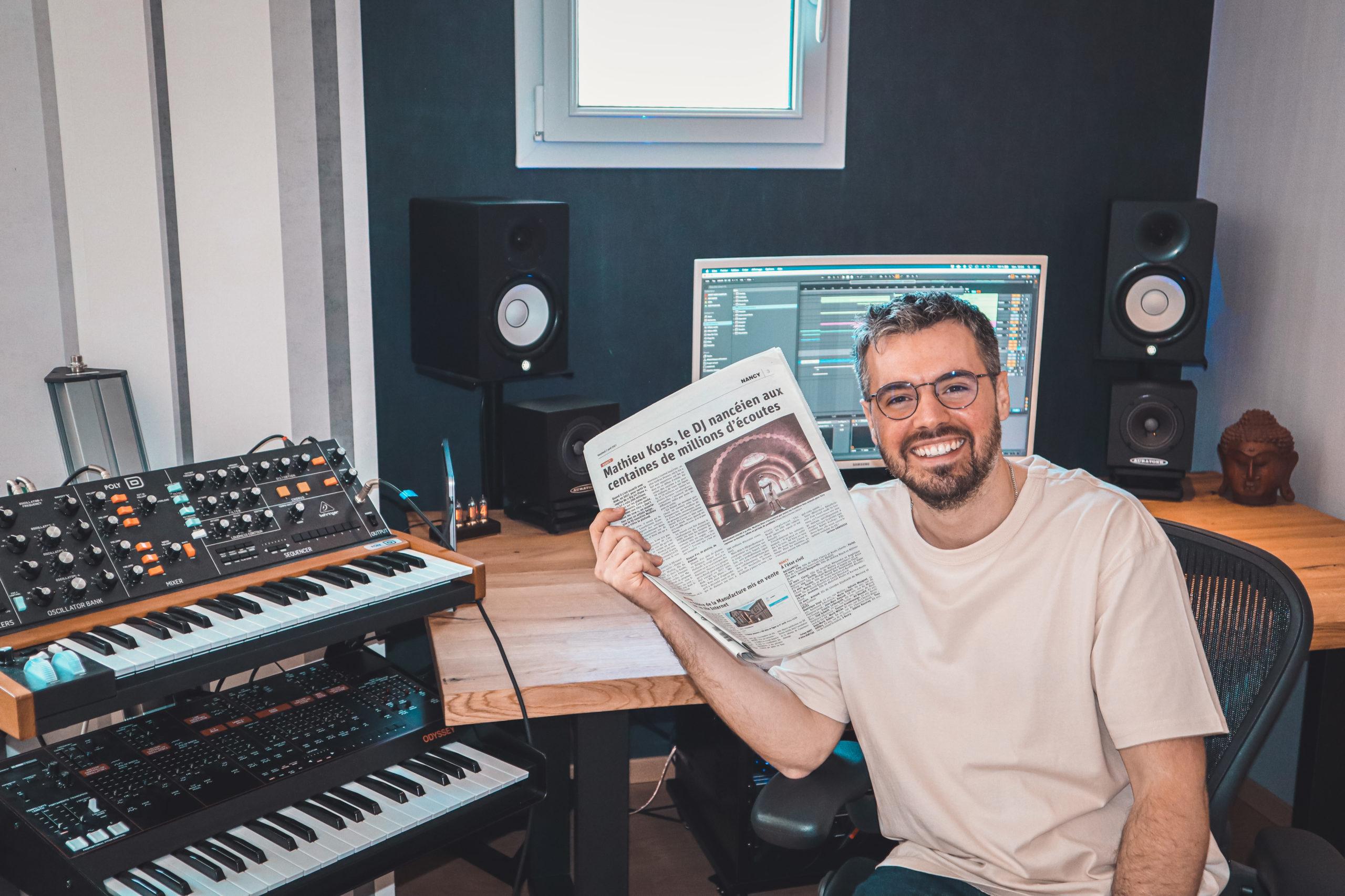 Avec « Don't leave me now », le DJ Mathieu Koss connaît un nouveau succès mondial